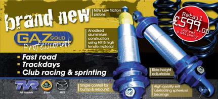 Gaz Gold Professional Suspension